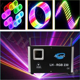 Wholesale Dj Laser Light 3d - New 3D effect 1.2w rgb RGB laser light with dynamic patterns and animation effects in SD card