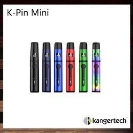 Wholesale Mini K - Kangertech K-PIN Mini Kit All-in-One Design 2ml Tank 1500mah Battery Top Fill Leak Resistant Cup Design 100% Original