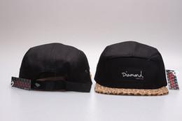 Wholesale Diamond Supply Snapbacks - free shipping Newest Hotest flower strapback 5 panel Hats Snapback Hats Caps Men 2015 Snapbacks Adjustable Diamond supply co Snap back caps