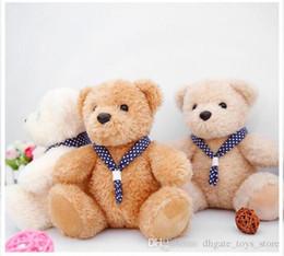 Wholesale Teddy Film - 20cm Film Teddy Bear Ted Plush Toys for kids Love Sweater Soft Stuffed Animals Ted Bear Plush Dolls white bears dolls