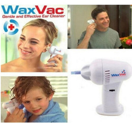 Wholesale Ear Wax Cleaner Tool - Promotion !! 2016 Novelty Ear Care Tools Painlessly Cordless Hygenic Ear Cleaner Wax Vac Safety Cleaning Remover Earpick