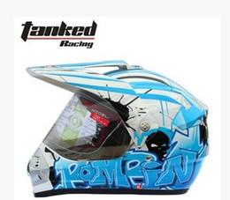 Wholesale Mail Tank - Wholesale-Genuine mail TANKED tank helmet off-road helmet motorcycle helmet full helmet T340 S-XXL