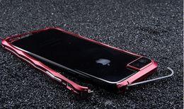 Wholesale Iphone Aluminum Border Case - Luxury Diamond Shape Aluminum Metal Stand Holder Bumper Case For iPhone 7   7 Plus Original Cell Phone Bumper Case Cover Borders