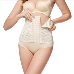 Wholesale Wholesale Clothes Bundles - 2017 New Postpartum abdomen belly plastic waist slimming recovery bundle coat thin waist cinchers body sculpting clothing court beam belt