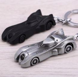 Discount bats cars - 2 Colors The Dark Knight Batman Car Keychain Batmobile Superman Alloy Pendant Toy Keyring Bat Man Key Chain Ring