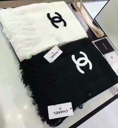 Wholesale Letter Rings For Women - Top Qualtiy Cashmere Scarf for women Euro Brand French Luxury brands designer scarf Letter Pattern Women Gift shawl scarf 5 colors chose