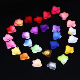 Deutschland Großhandels3000packs verschiedene Farben-Silk Blumen-Rosen-Blumenblatt-Hochzeitsfest-Dekorationen geben Verschiffen frei Versorgung
