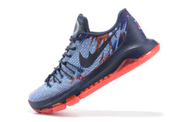 Wholesale Cheapest Low Cut Basketball Shoes - 2016 new cheapest Kd 8 Basketball Shoes New Arrival kd8 Mens Best Quality Basketball shoes