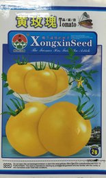 Wholesale Cherry Cans - Fruit and vegetable seeds Yellow roses tomato seeds Small tomato cherry tomatoes seeds can be potted 2 g color package 3bags per lot