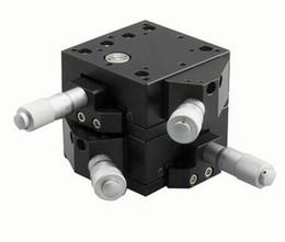 Wholesale Xy Slide - PT-XY20-60LR RL XY Axis XY Motorized Microscope Stage, Manual Station, Manual Platform, Optical Sliding Table