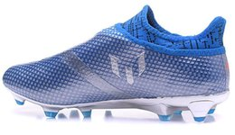 Wholesale popular shoes men - Messi 16 Pureagility FG football shoes,Cheap discount X 16 FG Purechaos,Training Sneakers Cleats,Soccer shoes,2016 new popular Sneaker BOOT