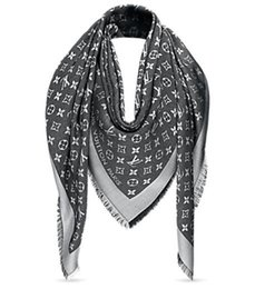 Soie grise en Ligne-Gris Check Femmes Laine Coton Cachemire Soie Foulards Écharpe Wrap Châle Écharpe Pashmina Shine