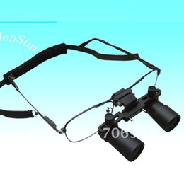 Wholesale Binoculars Microscope - Operating Magnifier 3X Glasses type Magnifier Loupe Dental 3X Magnifying Medicinal Surgical Binocular Loupes 420MM Free shipping tools