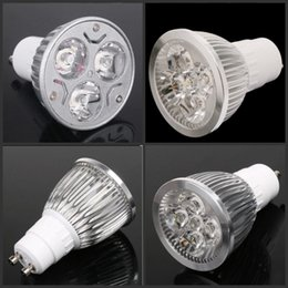 Riflettore 12w cree online-Lampada a LED CREE ad alta potenza dimmerabile GU10 MR16 E27 E14 GU5.3 B22 Faretto a led