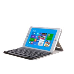 Wholesale Playbook Bluetooth Keyboard - Folding Stand Bluetooth Keyboard Case Cover for Chuwi Hi8 Tablet PC 10M Effective Range 80 Hours Continuous Run Time Hot Sale
