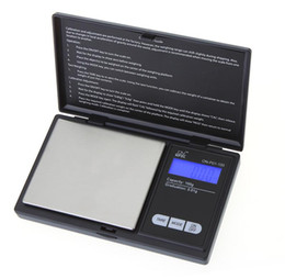 Wholesale Weight Scale Oz - High Accuracy Jewelry Scale Digital Pocket Scale Weight For Jewelry Gold Silver Diamond Ounce OZ Gram 0.01-1000g Free Shipping