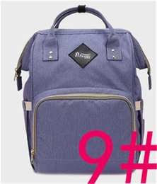 Wholesale Yellow Grey Diaper Bag - Mommy Diaper Bag Nappies Maternity Backpacks Brand Desinger Backpack Fashion Mother Handbags Outdoor Nursing Travel Bags Organizer