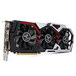 Wholesale Pci Graphics Cards - Colorful NVIDIA GeForce GTX iGame 1060 GPU Graphics Card 6GB 192bit Gaming GDDR5 PCI-E X16 3.0 Graphics Card DVI+HDMI+3*DP Port