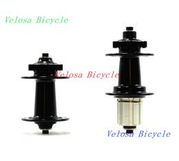 Wholesale mountain bike wheel hub - Powerway M66 mountain bike hubs,bicycle wheel hubs ,MTB hubs Enduro sealed bearing,alloy qr skewers included