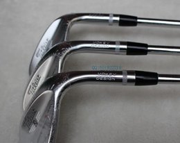 "Wholesale Wedge Set 54 58 - New SM6 Wedge Satin SM6 Golf Wedges Golf club Clubs sets 50'  52"" 54"" 56"" 58"" 60"" Degree With steel shafts set"
