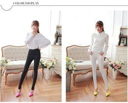 Wholesale High Waist Slimming Leggings - High Waist Slim Skinny Women Leggings Stretchy Pants Jeggings Pencil Pants