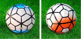Новый 3 цвет SIZE4 / 5 высокого качества ТПУ / ПУ футбол / футбол / гэльский бесшовные учебно-тренировочный матч соревнования мяч шары противоскользящие от Поставщики новые футбольные матчи