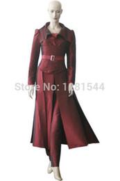 Wholesale Phoenix Clothing - Free shipping X-Men The Phoenix Cosplay Costume Halloween Clothing