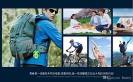 Lector de tarjetas al aire libre online-Altavoces estéreos al aire libre solares Bluetooth JT2693, estéreo inalámbrico de Bluetooth, mini subwoofer de la tarjeta, lector de tarjeta del TF de la ayuda Play