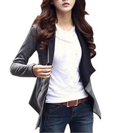 Wholesale Plus Size Warm Tops Womens - Wholesale- Womens Warm Lapel Casual Coat Long Sleeve Jacket Outwear Cardigan Tops Plus Size XL