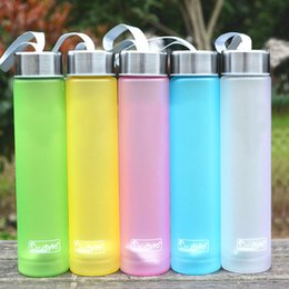 Wholesale Bikes Direct - Wholesale- Muti Colors Portable Bike Sports Travel Unbreakable Plastic Water Bottle Cycling Camping Bottles