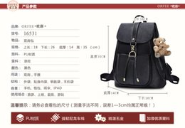 Wholesale Boys White Silk Tie - Ms. shoulder bag 2016 spring and summer Japan and South Korea female bag fashionable small travel backpack female