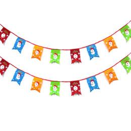 8pcs Natale Bandiera di Santa Bandiere Albero di Natale Bandiere colorate Decorazioni per eventi Fai da te Casa Famiglia giardino Festival Decorazione Accessori da