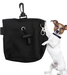 Wholesale Pet Fashion Series Dog supplies Pet Dog training treat bag Snack Obedience Agility Bait Food Training Treat Waist Pouch Bag