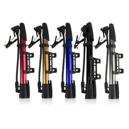 Wholesale Mini Bicycles For Sale - 1 pc Inflator Bike Pump Aluminum Alloy Mini Bicycle Tire Pump Ultralight Cycling Air Pump For Bike Hot Sale