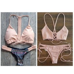 Wholesale Heart Shaped Swimwear - 2016 Genuine Hot style Swimwear, Crystal Women Swimsuit woman Heart-shaped Diamond Strappy Bikini Sets with Free Shipping A01003