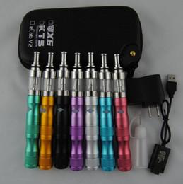 Wholesale Ego Vv X6 - X6 V2 E Cigarettes Starter Kit X6 1300mah Variable Voltage VV eGo Battery With 2.5ml 510 V2 Atomizer and Case