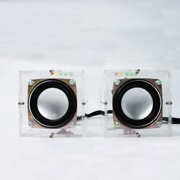 Wholesale Low Frequency Power Amplifier - Great Music Sound Amplifier Electronic DIY Kit Mini Remarkable Transparent Speaker Box DIY Suite
