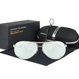 Wholesale Aluminum Magnesium Alloy Sunglasses - Polarized Designer Sunglasses For Men With Frame Aluminum Magnesium Luxury Brand Sun Glasses Mens Driving Sunlasses Rays UV400 Protection