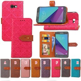 Wholesale Iphone Cover Palace Flower - Palace Flower Wallet Leather Pouch Case For Iphone X Xiaomi Redmi 4X Samsung Galaxy NOTE 8 2017 J3 J5 J7 J520 ID Card Stand Flip Phone Cover