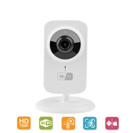 Wholesale Wireless Wifi Ip Camera Webcam - HD 1080x720P Wireless IP Camera Portable smart Wifi CCTV Security Camera Webcam Surveillance Comcorder Night Vision Audio Video Telecamera