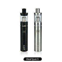 Wholesale Good Starts - 100% TOP Eleaf iJust S Start kit 3000mAh i Just s 4ml Capacity Tank Top Filling Solution Good Taste &i Just s battery