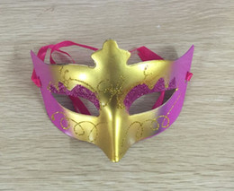 Wholesale Hallowen Mask Wholesale - 2016 Fashion Princess Costume Party Festival Performance Masquerade Mask Hot Sale Hallowen Masks Mixed Wholesale Free Shipping