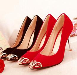 En 2016 chaussures de mariage printemps et en été chaussures femme chaussures talons aiguilles imperméables rouge mariée femme mariage ? partir de fabricateur