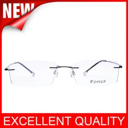 Wholesale Eyeglasses Rack - Highest quality Men Women Optical Frames Eyeglasses Frame Rack Commercial Glasses Fashion Eyeglasses Frame Myopia Titanium Frame