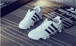 Wholesale Young Leather Men - The spring and autumn edition. Casual shoes. The young man breathable shoes. Gym shoes.Canvas shoe.Student sports shoes.Leisure shoes