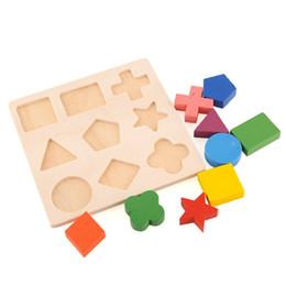 Modèle en bois Empilable Building Block Jouet Montessori Éducation Cerveau Formation Jouer Apprentissage Enfants ? partir de fabricateur