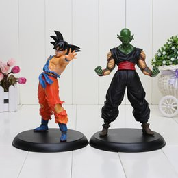 Wholesale Toy Demon - 2pcs set 23cm Anime Dragon ball Z Son Goku & Piccolo Super Saiyan Demon King pvc Action figures toy Dragon ball figures