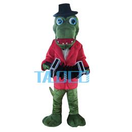 Wholesale Plush Alligators - Hot Sale Crocodile Alligator Plush Mascot Costume Adult Size Fancy Dress Suit