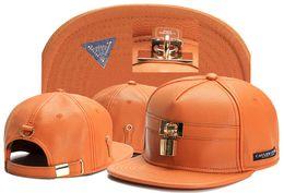 Wholesale White Snapbacks - 2016 Swag brand Cayler Sons brown Leather Snapback hip hop sport cap baseball hat for men women bones snapbacks bone gorras high quality
