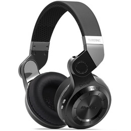 Wholesale Noise Canceling Bluetooth Headsets - Wholesale-Original Bluedio T2 4.1 Stereo Foldable Style Bluetooth V4.1 +EDR Noise canceling Wireless Headset for Smartphone Tablet PC